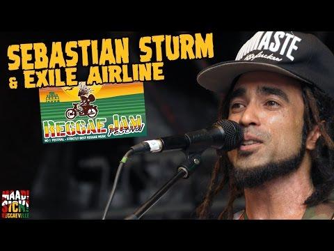 Sebastian Sturm & Exile Airline - Faith @ Reggae Jam 2016 [7/31/2016]