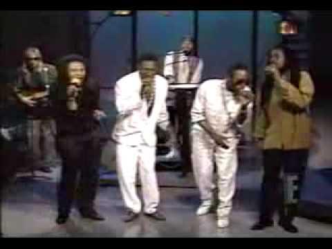 Dennis Brown, Little Lenny, Maxi Priest and Shine Head @ David Letterman [5/12/1992]