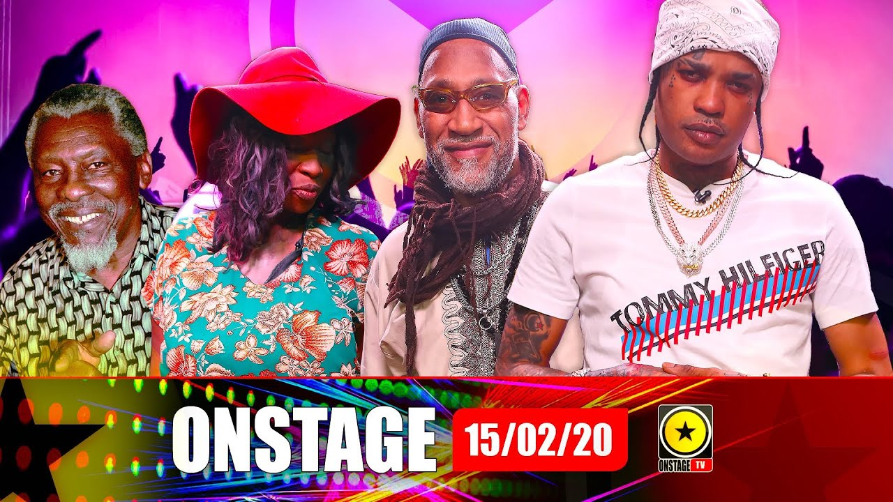 Tommy Lee, Macka Diamond, Kool Herc, Sir Coxsone Dodd @ OnStage TV [2/15/2020]