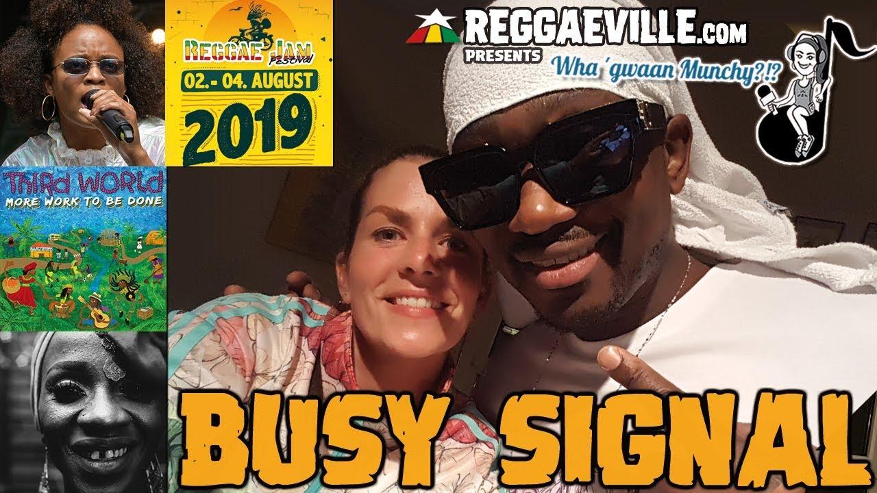 Busy Signal @ Wha' Gwaan Munchy?!? #51 (August 2019) [8/9/2019]