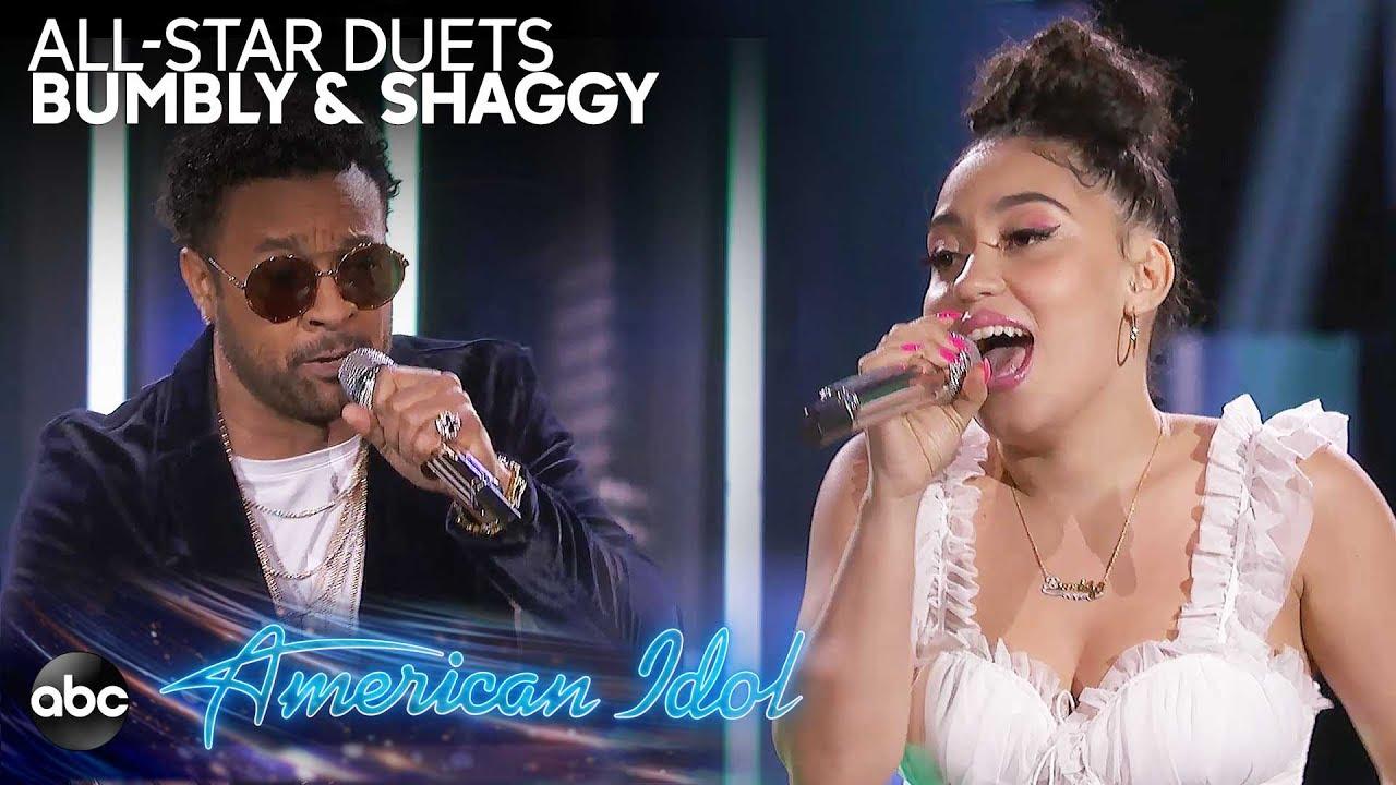 Video: Bumbly & Shaggy - Angel @ American Idol 2019 4/7/2019