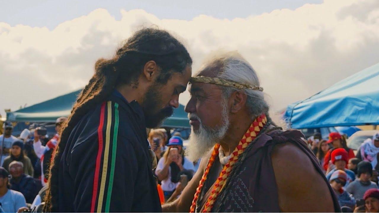 Damian Jr Gong Marley visits Hawaii to Protect Mauna Kea [8/13/2019]