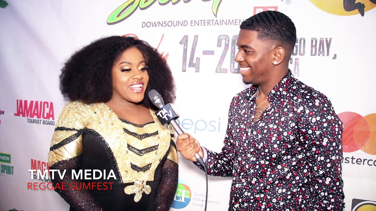 Etana Backstage Interview @ Reggae Sumfest 2019 [7/21/2019]