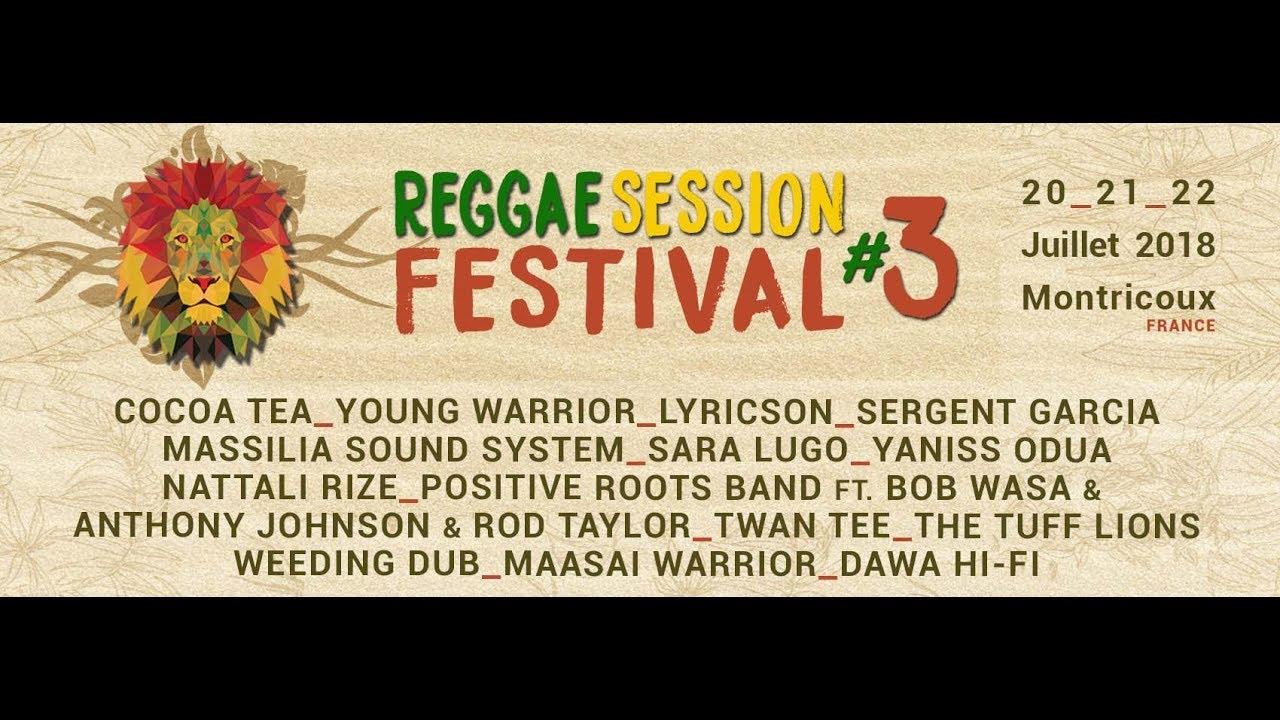 Reggae Session Festival 2018 (Trailer) [5/7/2018]