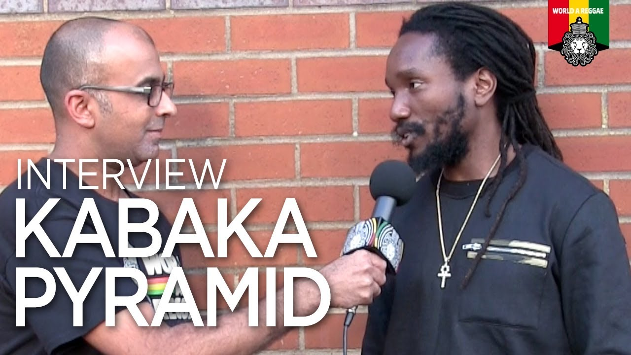 Kabaka Pyramid Interview by World A Reggae @ Reggae Jam 2018 [8/5/2018]