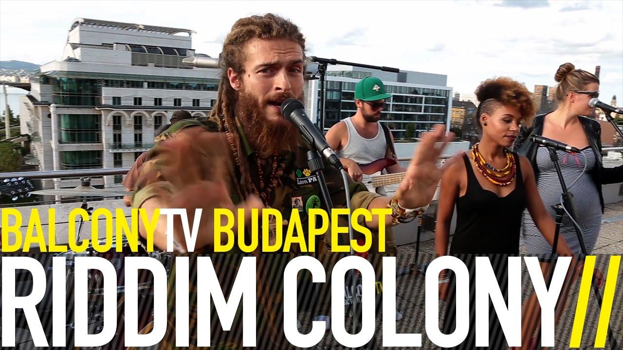 Riddim Colony - Stronger @ Balcony TV [11/16/2016]