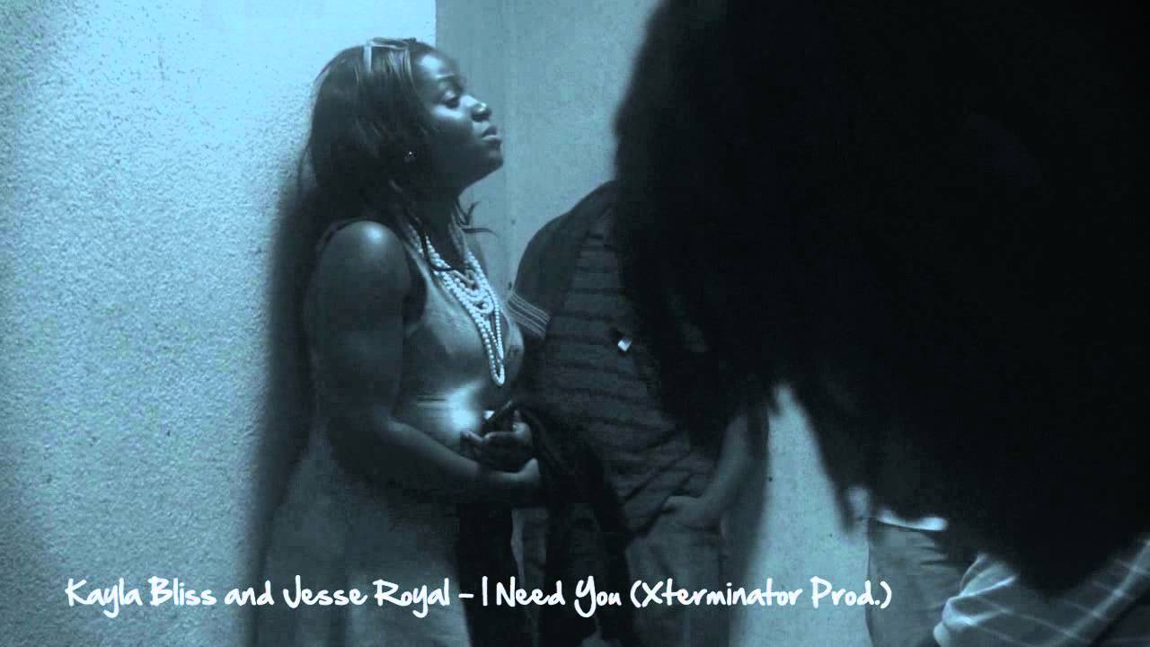 Kayla Bliss & Jesse Royal Vibing - I Need You [8/23/2011]