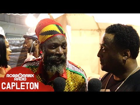 Capleton Interview by RobboRanx @ Best Of The Best 2018 [5/27/2018]