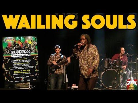 Wailing Souls - Fire Coal Man @ Rototom & Friends in Amsterdam [4/21/2016]