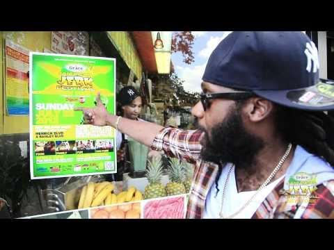 Drop: Tarrus Riley @Jamaican Jerk Festival 2012 [6/13/2012]
