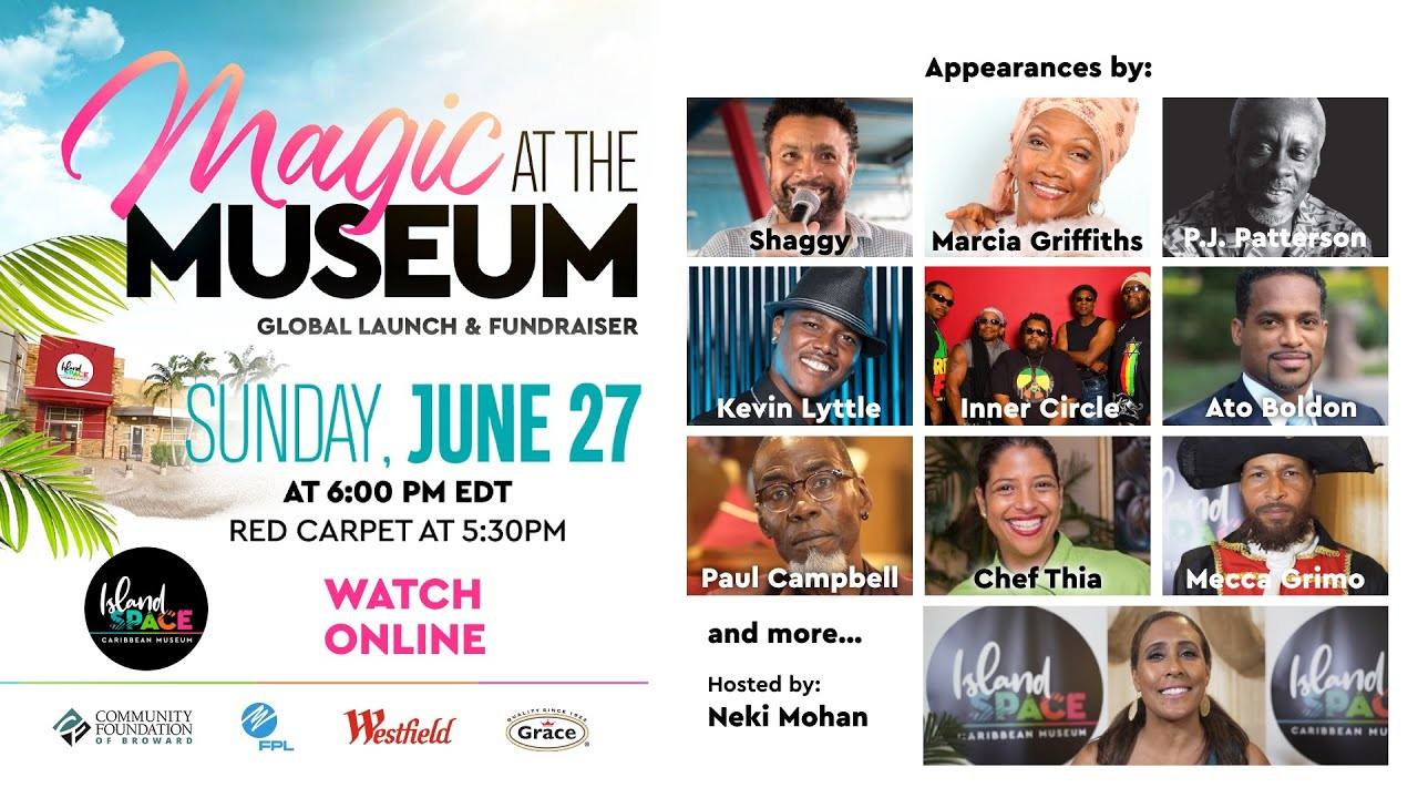 Magic at the Museum - The Island SPACE Global Launch (Livestream) [6/27/2021]