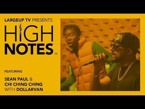 Sean Paul & Chi Ching Ching - Gang Gang Freestyle @High Notes [4/19/2019]