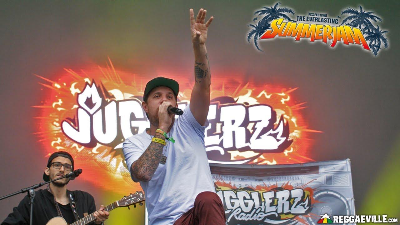 Jugglerz Radio feat. Jah Sun & Randy Valentine in Cologne, Germany @ SummerJam 2017 [7/1/2017]