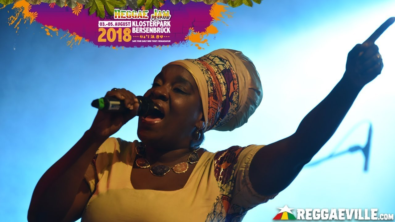 Queen Omega @ Reggae Jam 2018 [8/3/2018]