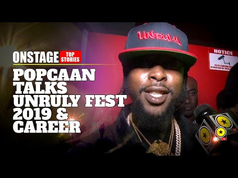 Popcaan Talks Unruly Fest 2019, The Big Foreign Act & Gives Career Update [10/31/2019]
