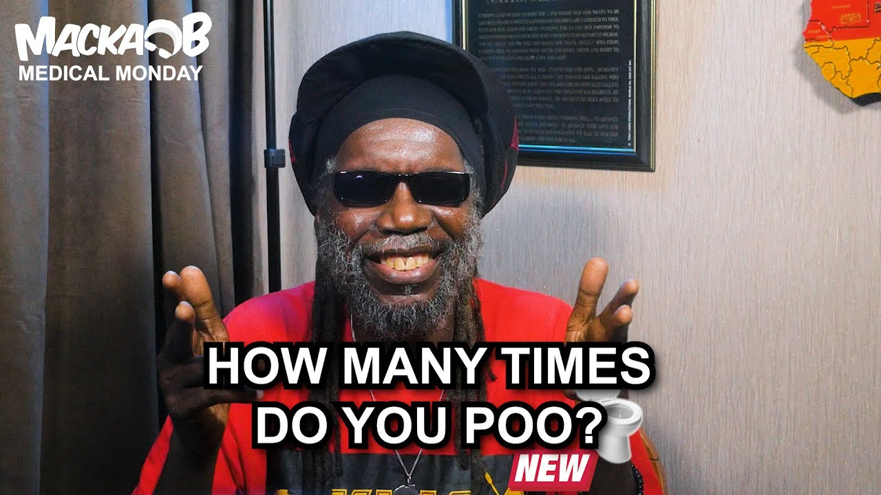 Macka B's Medical Monday - How Many Times Do You Poo? [9/21/2020]