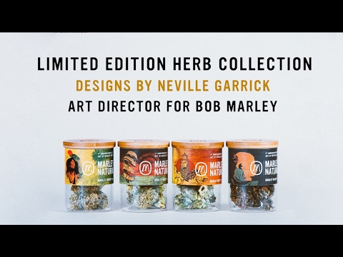 Marley Natural anniversary herb collaboration with Neville Garrick [2/20/2017]