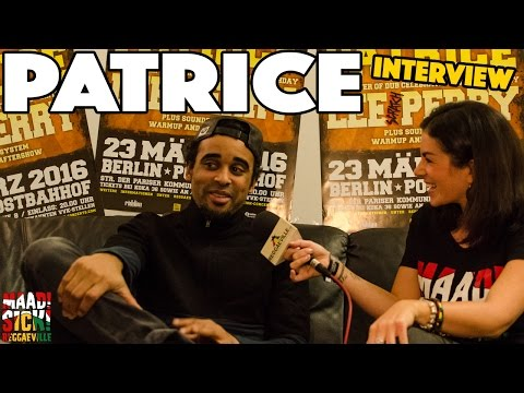 Interview with Patrice @ Reggaeville Easter Special in Berlin [3/23/2016]
