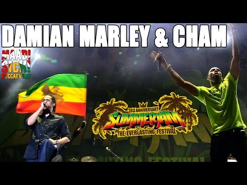 Damian Marley & Cham - Fighter @ SummerJam 2015 [7/5/2015]