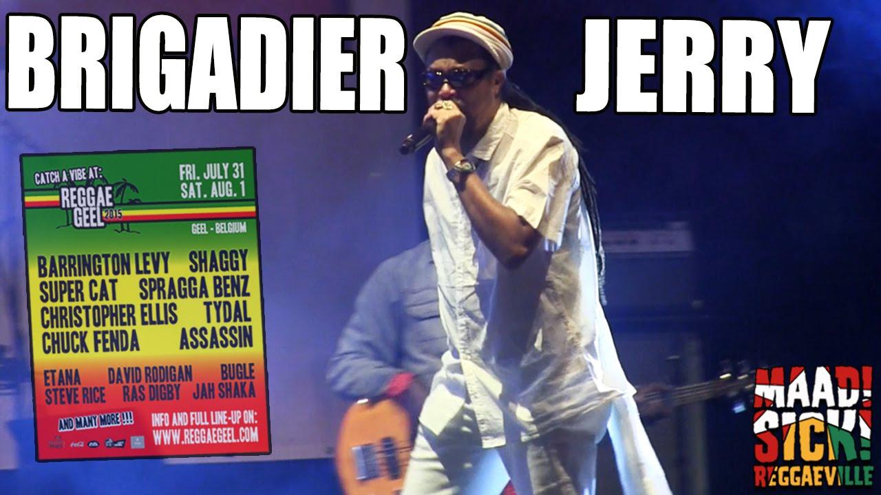 Brigadier Jerry @ Reggae Geel 2015 [8/1/2015]