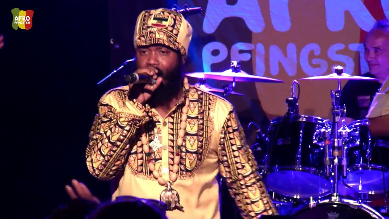 Warrior King & the Rootz Warriors @ Afro-Pfingsten 2017 (Full Show) [6/4/2017]