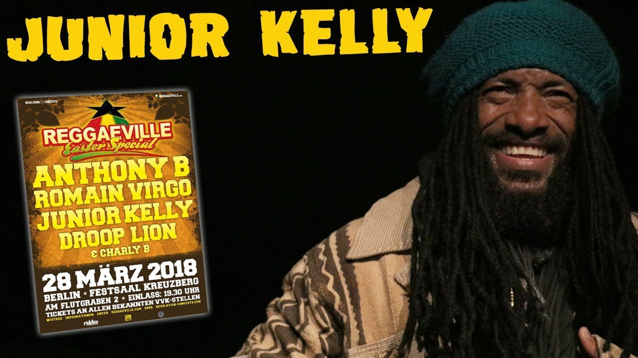 Junior Kelly in Berlin, Germany @ Reggaeville Easter Special 2018 [3/28/2018]