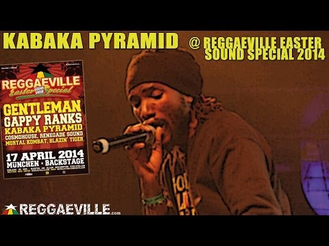 Kabaka Pyramid @ Reggaeville Easter Sound Special in Munich, Germany [4/17/2014]