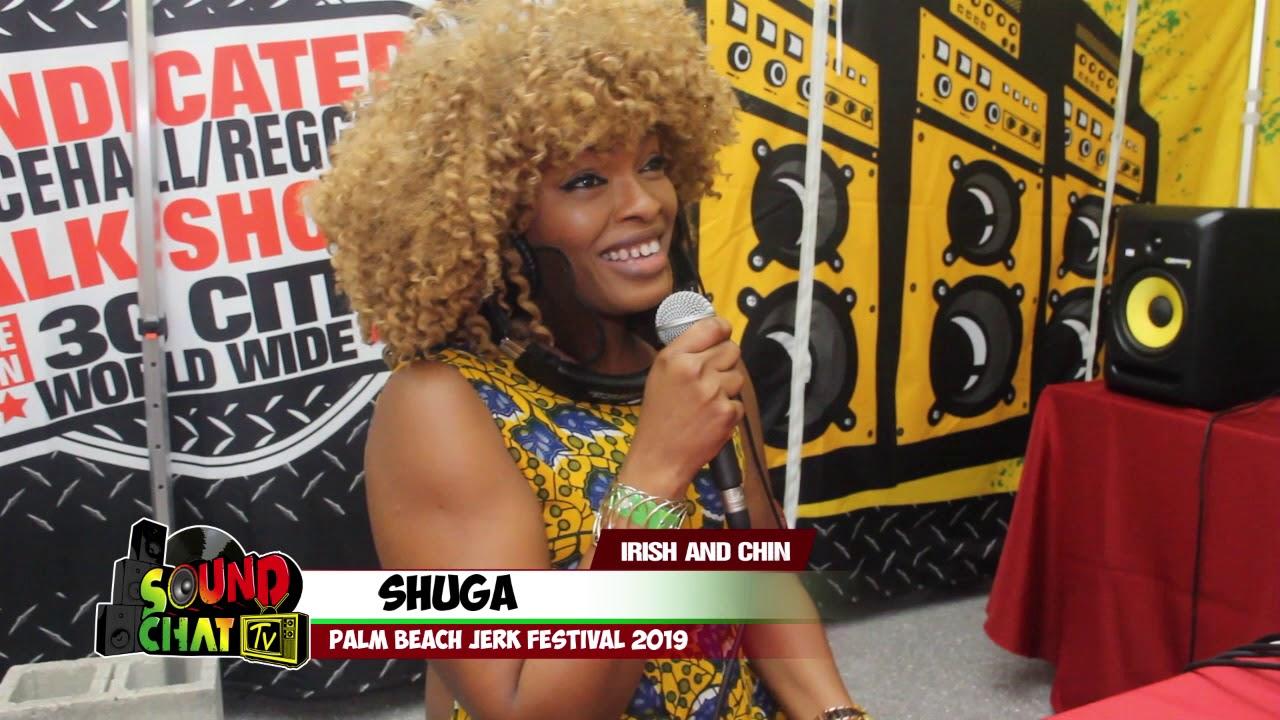 Shuga Interview @ Palm Beach Jerk Fest 2019 by Irish & Chin [5/31/2019]