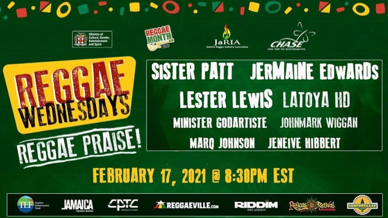 Reggae Wednesdays - Reggae Praise! 2021 (Live Stream) [2/17/2021]