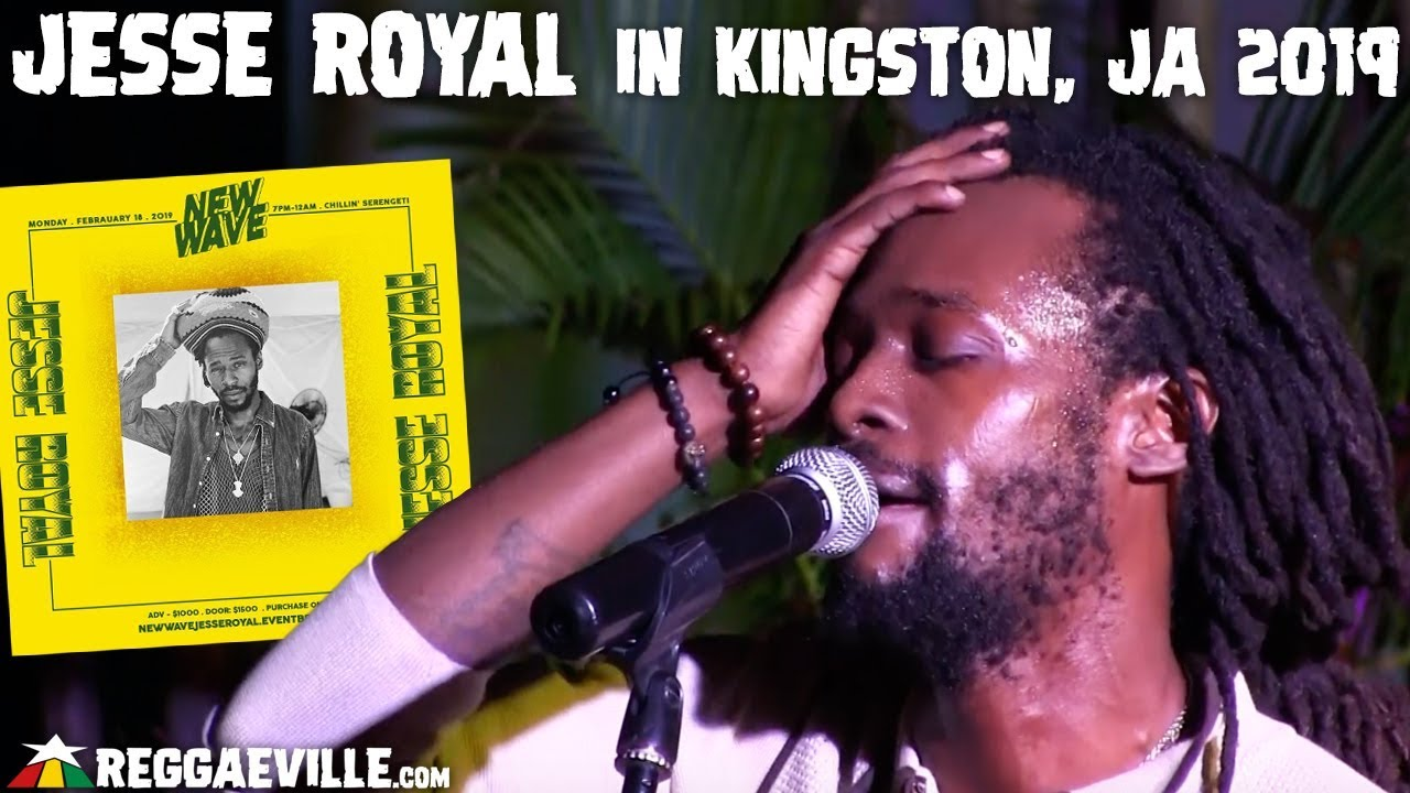 Jesse Royal @ New Wave in Kingston, Jamaica [2/18/2019]