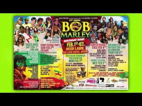 Lee Scratch Perry for Bob Marley Birthday Bash 2014 [1/18/2014]