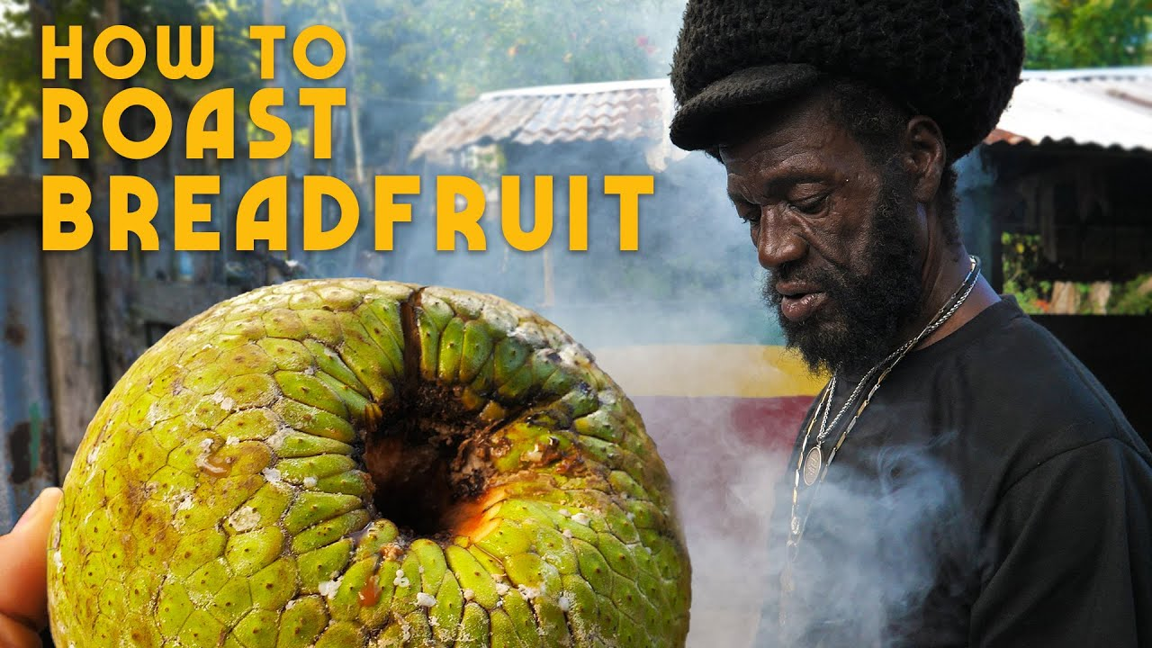 Ras Kitchen - How to Roast Breadfruit! [8/23/2019]