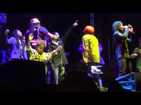 Damian Marley, Stephen Marley, Skip Marley, Jo Mersa Marley, Tarrus Riley, Gramps Morgan, Peetah Morgan - Could You Be Loved [9/26/2015]