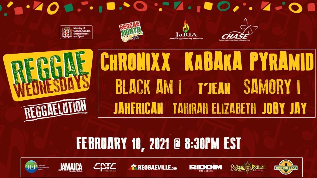 Reggae Wednesdays - Reggaelution 2021 (Live Stream) [2/10/2021]