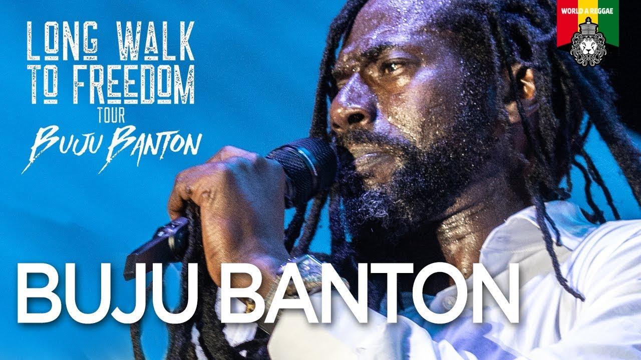 Buju Banton @Long Walk to Freedom Concert 2019 (World A Reggae Compilation) [3/16/2019]