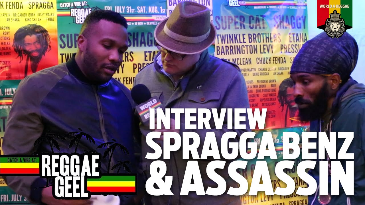 Assassin & Spragga Benz @ Reggae Geel 2015 [8/2/2015]