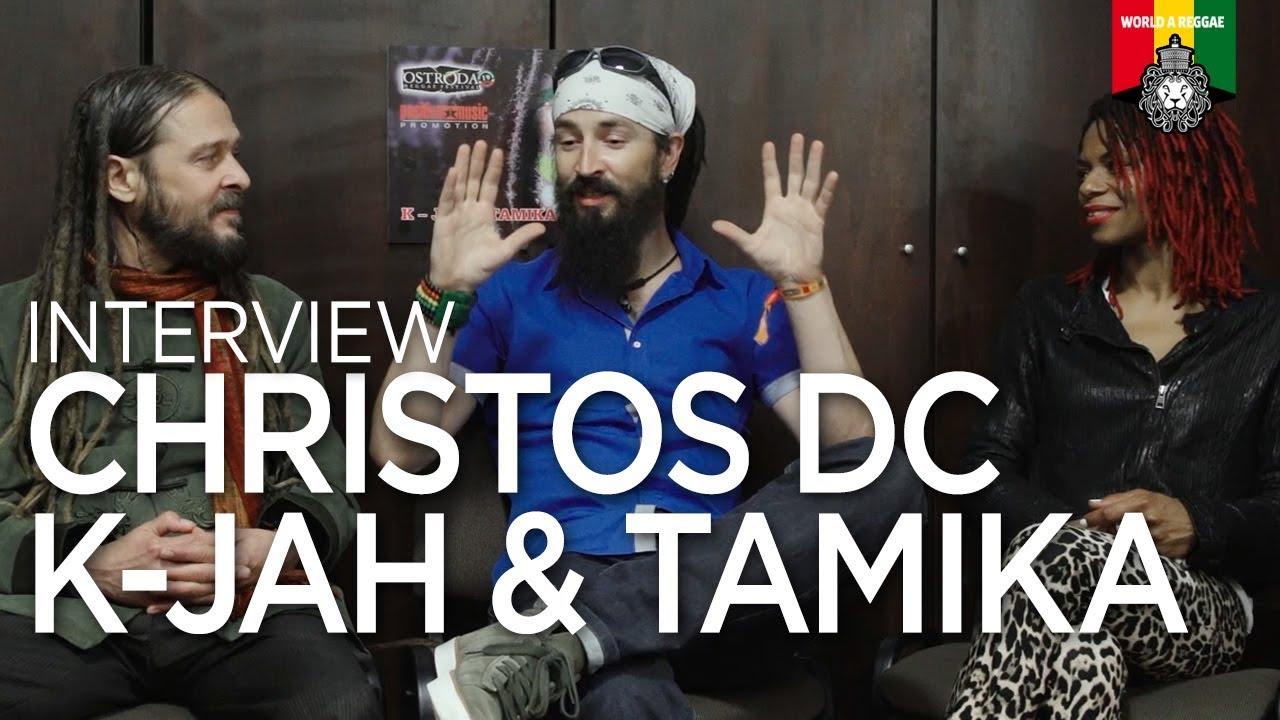 Christos DC, K-Jah & Tamika Interview @ Ostroda Reggae Festival 2019 [7/13/2019]