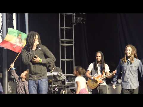 Stephen Marley, Skip Marley, Jo Mersa Marley & Mystic Marley - Could You Be Loved @ Rootfire At The Beach 2015 [8/2/2015]