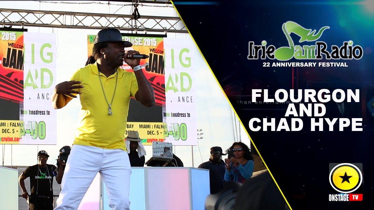 Flourgon & Son @ Irie Jam Radio Anniversary Festival 2015 (Onstage TV) [9/6/2015]