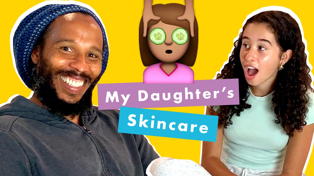 Trying My Daughter's Skincare Routine with Ziggy & Judah Marley @ Kid Spa | Cosmopolitan [10/5/2020]