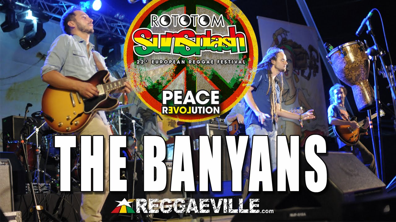 The Banyans - Mystic Joy @ Rototom Sunsplash 2015 [8/18/2015]