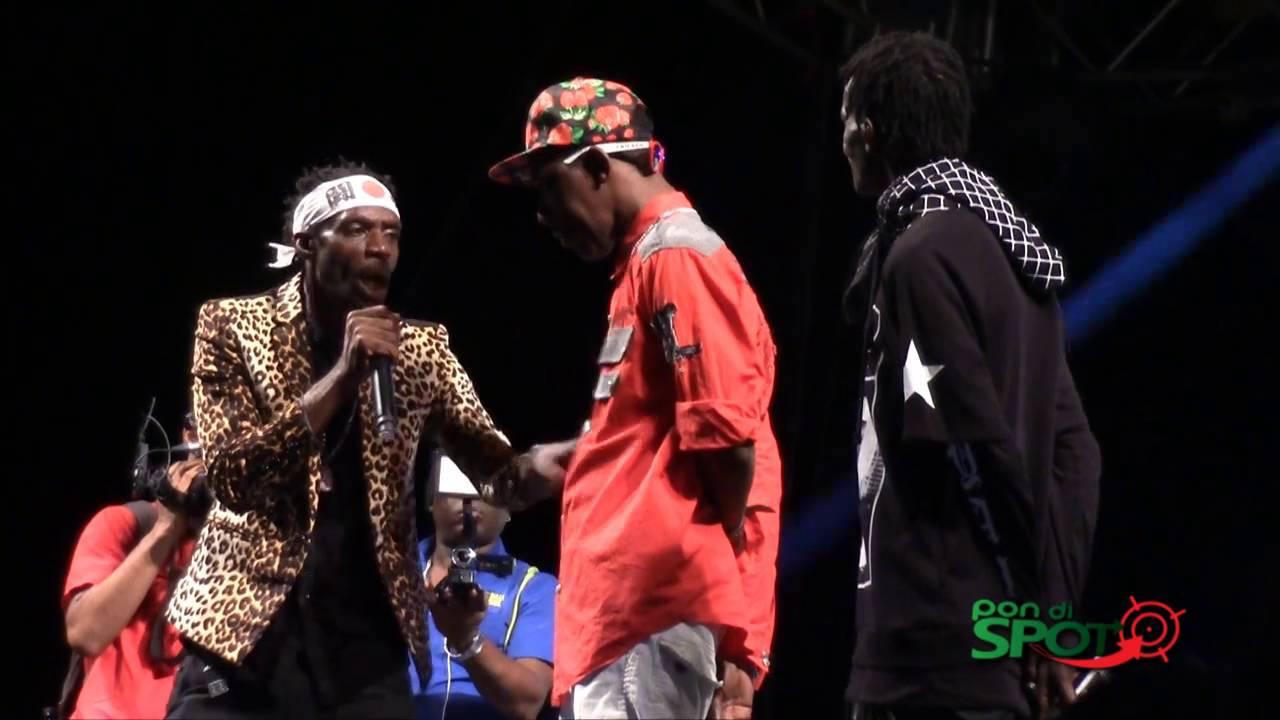 Gully Bop & Ninjaman Kill Merciless at Ghetto Splash 2015 [12/15/2015]