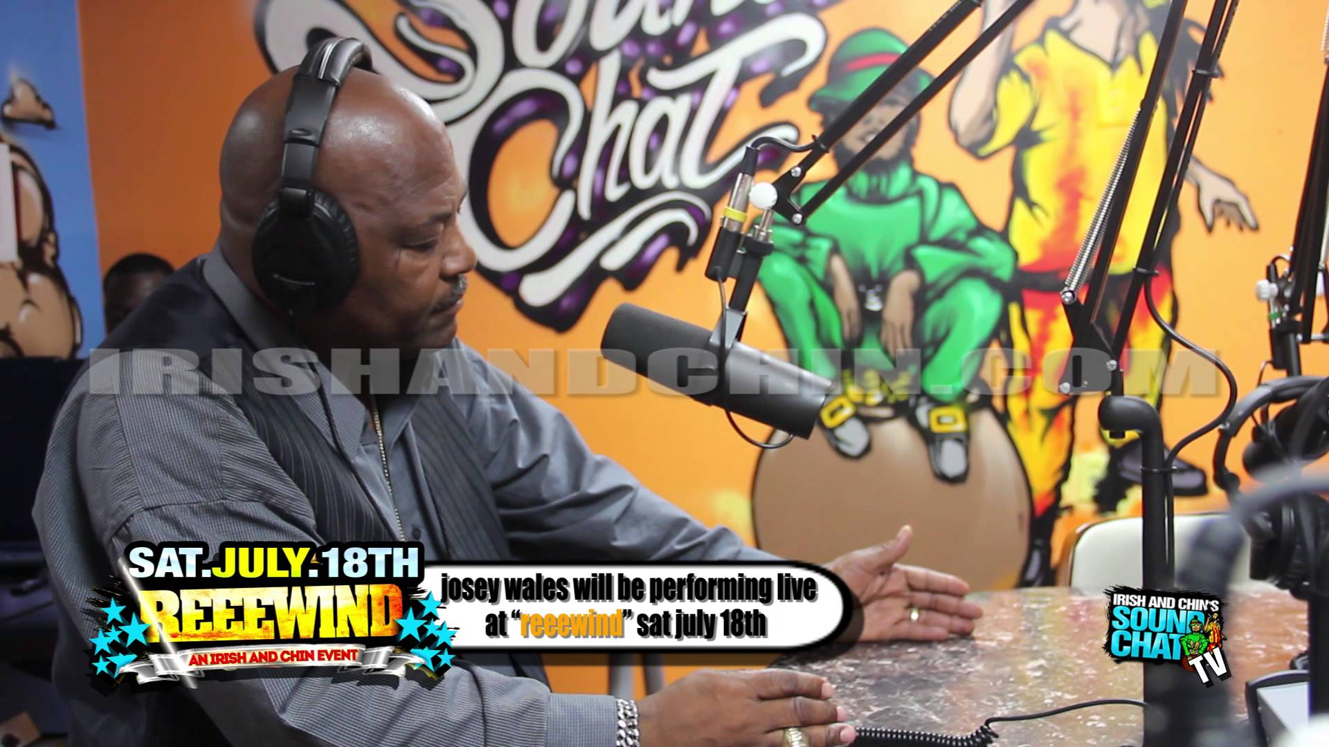 Interview with Josey Wales @ Irish & Chin's Soundchat [6/8/2015]