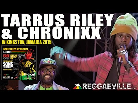 Tarrus Riley & Chronixx in Kingston, Jamaica @ Bob Marley 70th Birthday Celebration [2/7/2015]