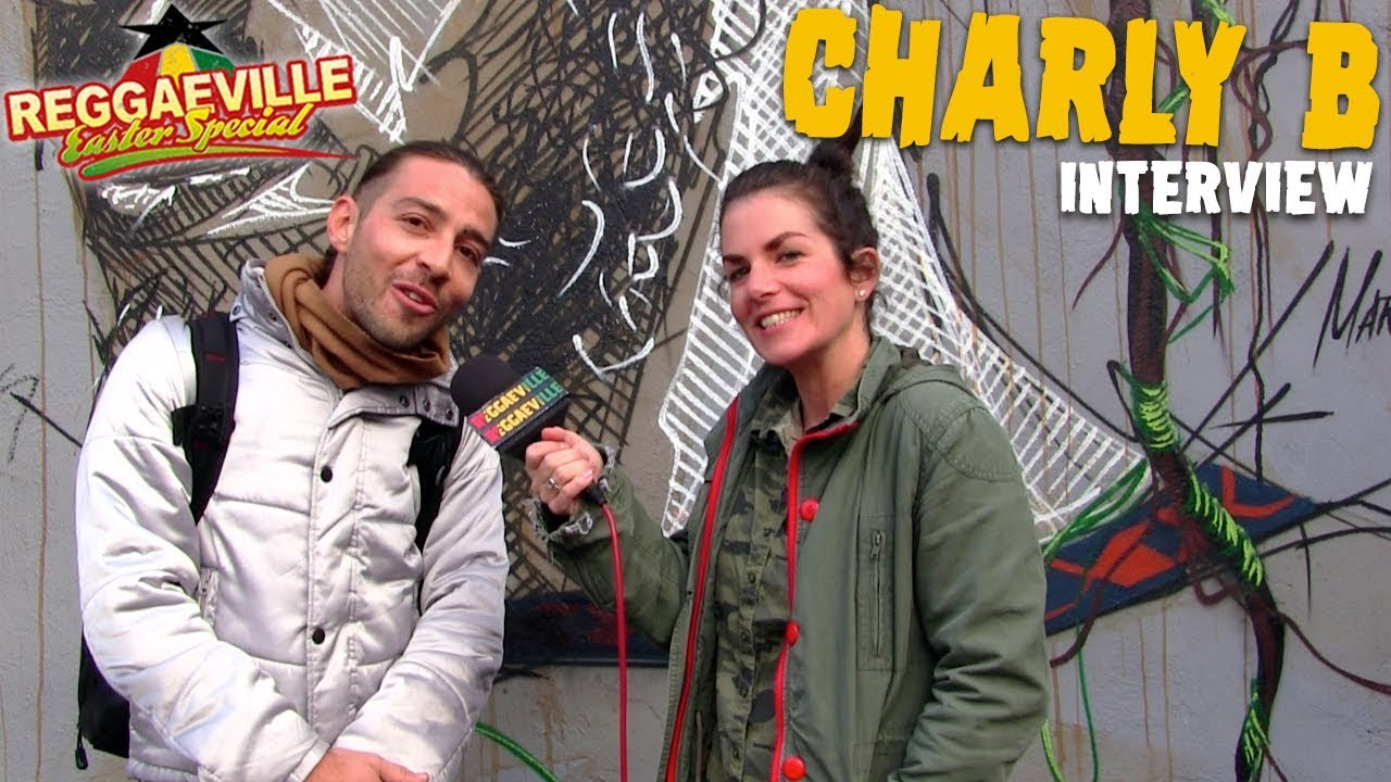 Charly B - Interview in Dortmund @ Reggaeville Easter Special 2018 [3/31/2018]