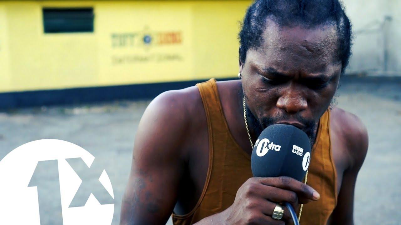 Ja Frass - Freestyle @ 1Xtra in Jamaica [3/8/2018]