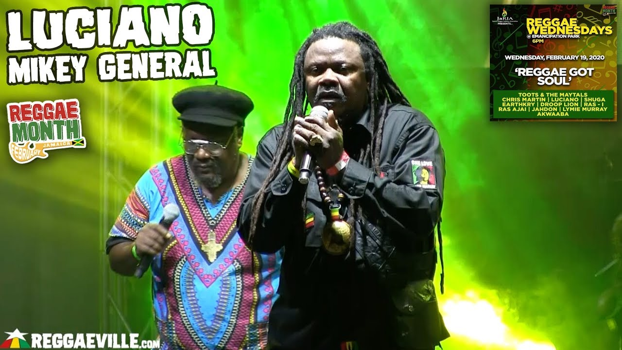 Luciano & Mikey General in Kingston, Jamaica @ Reggae Wednesdays [2/19/2020]