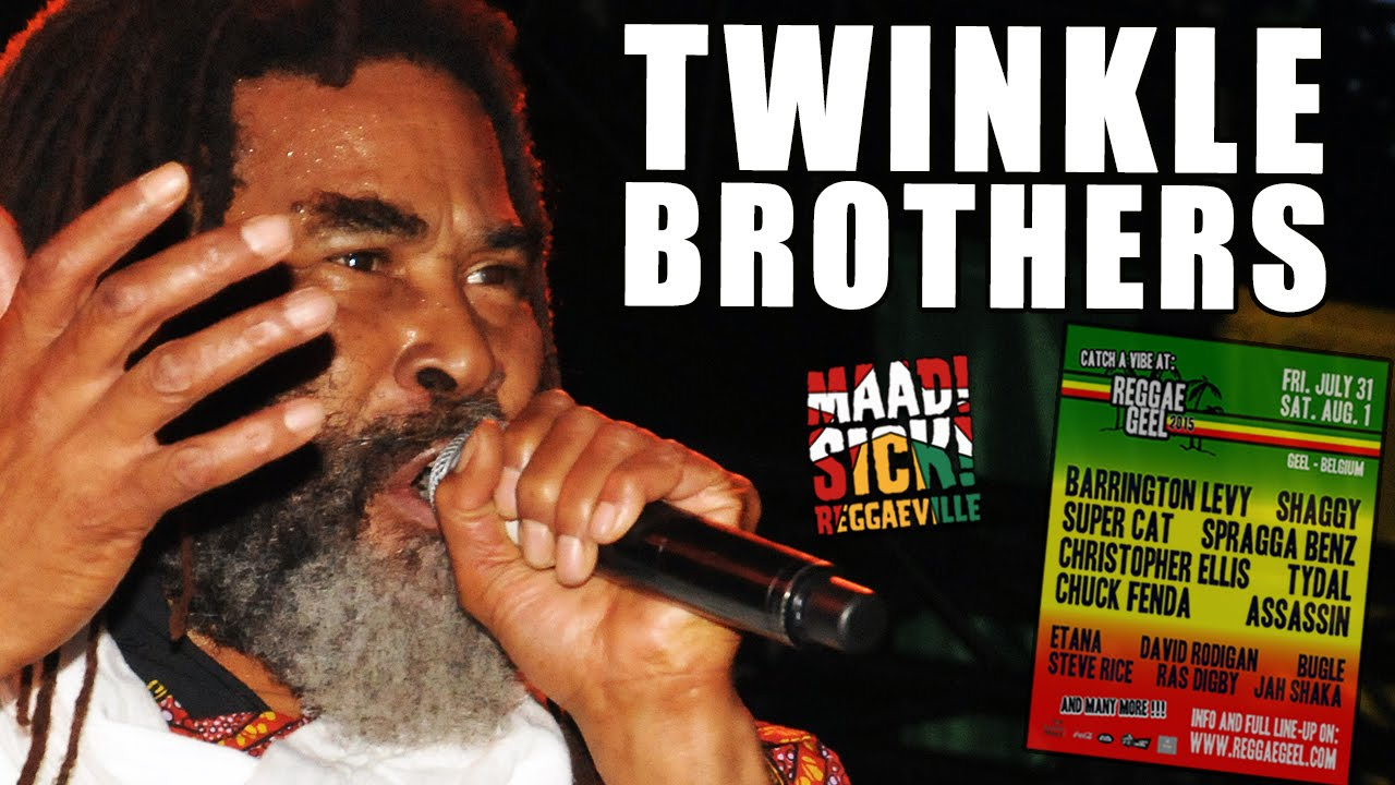 Twinkle Brothers - Don't Want To Be Lonely @ Reggae Geel 2015 [8/1/2015]