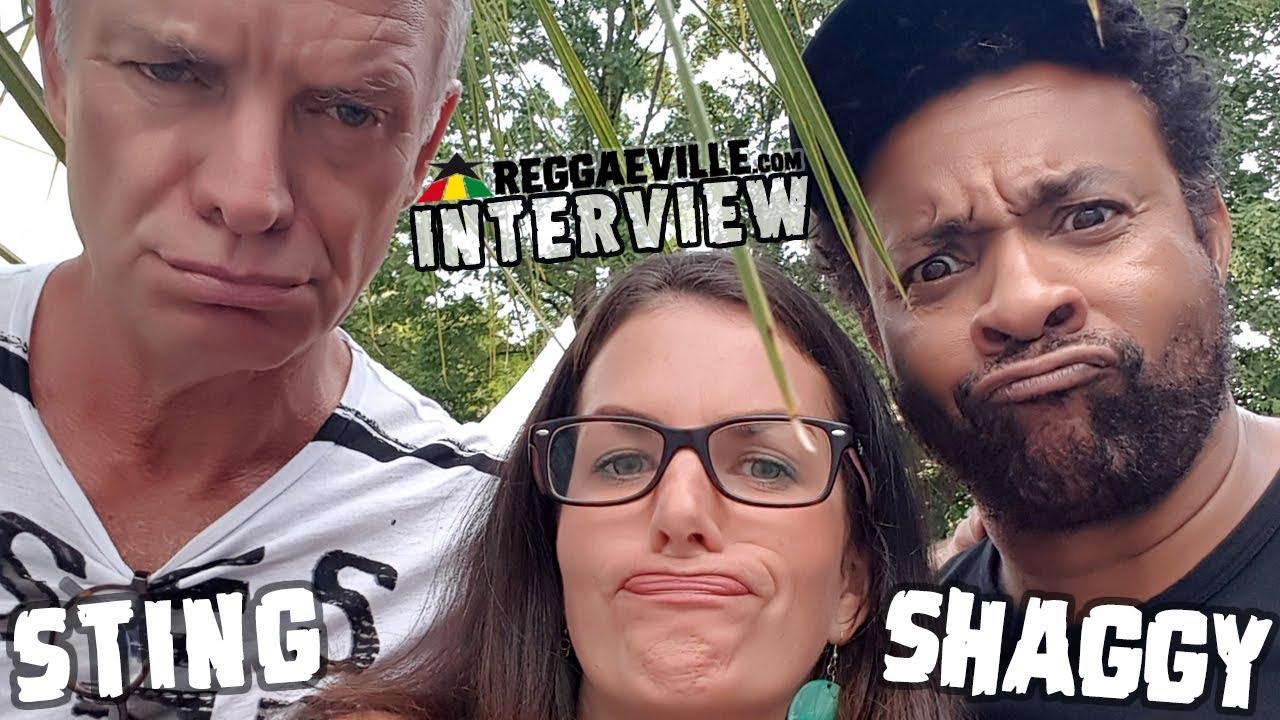 Sting & Shaggy - Interview @ Rosenheim Sommerfestival 2018 [7/14/2018]