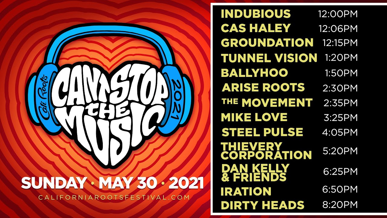 Can't Stop The Music Online Festival 2021 (Day 3) [5/30/2021]
